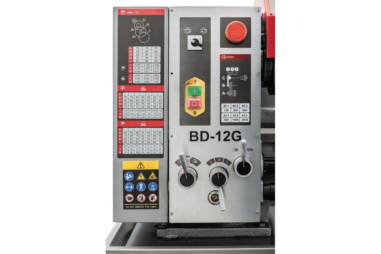 JET BD-12G Настольный токарный станок по металлу фото 10