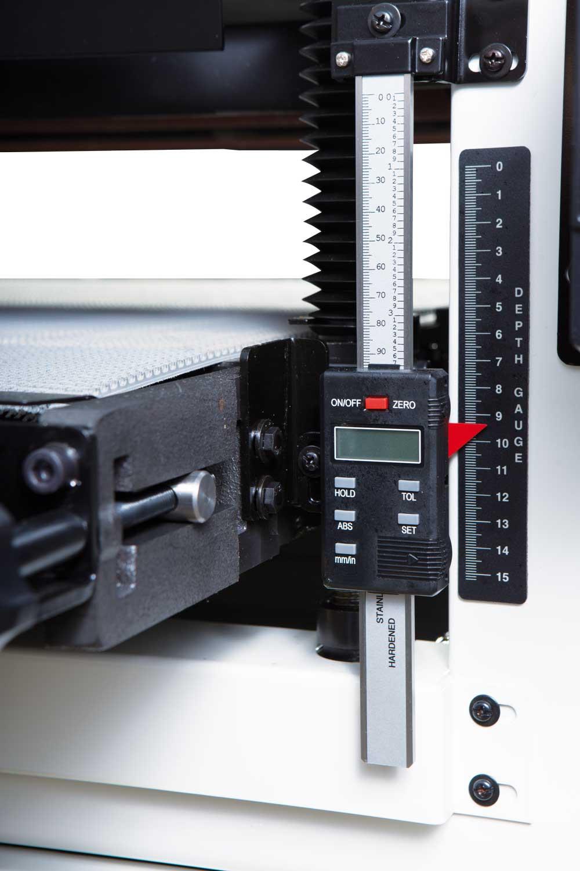 DDS-225 Двухбарабанный шлифовально-калибровальный станок фото 5