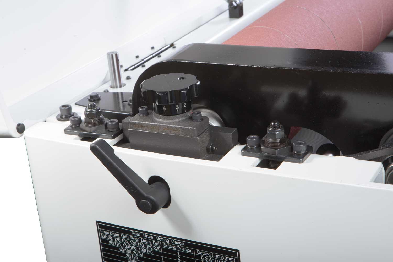 DDS-225 Двухбарабанный шлифовально-калибровальный станок фото 3