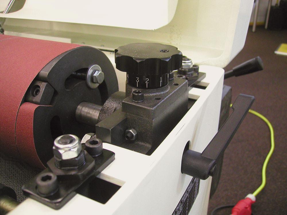 DDS-237 Двухбарабанный шлифовально-калибровальный станок фото 5
