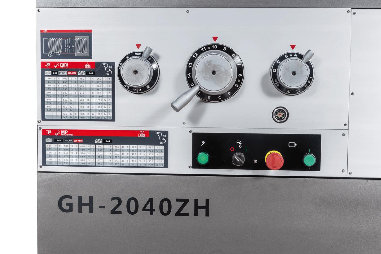GH-2040ZH DRO Токарно-винторезный станок серии ZH Ø500 мм фото 4