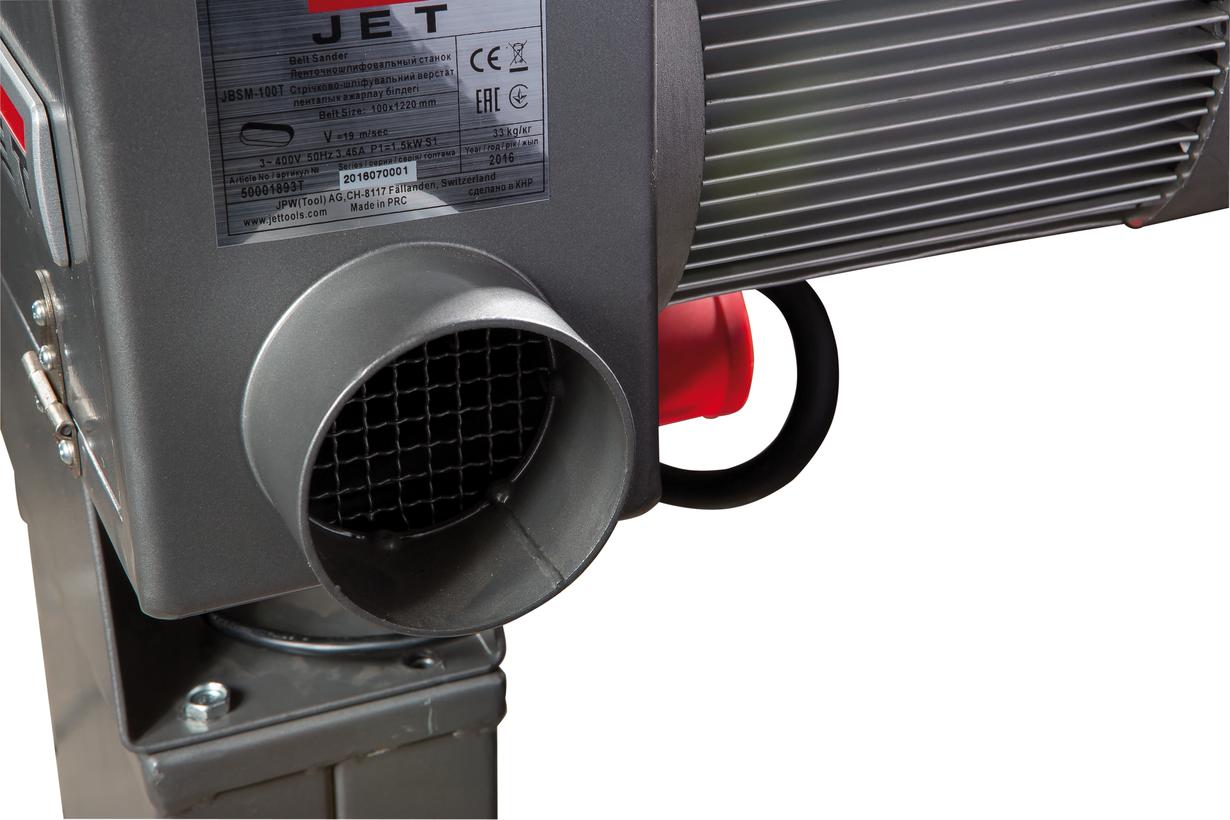 JBSM-100 Ленточный шлифовальный станок фото 7