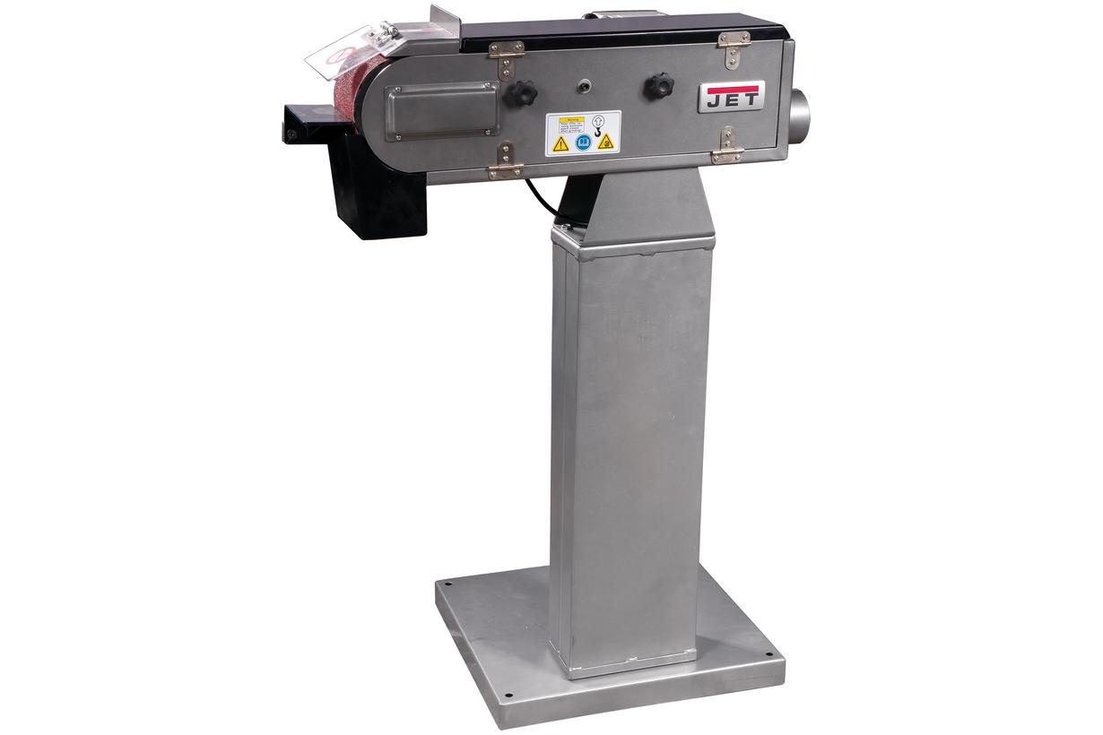 JBSM-100 Ленточный шлифовальный станок фото 1