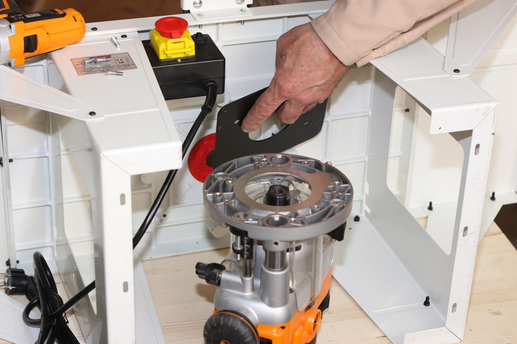 JRT-2 Универсальный чугунный фрезерный стол фото 11