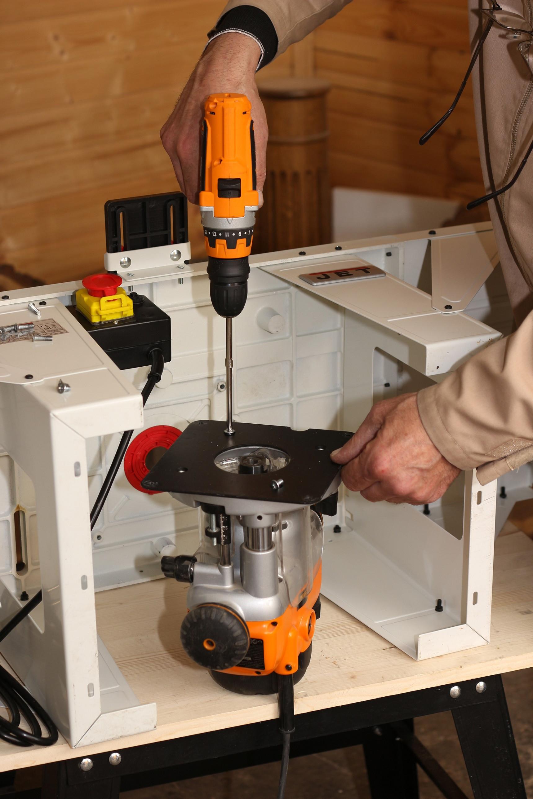 JRT-2 Универсальный чугунный фрезерный стол фото 2