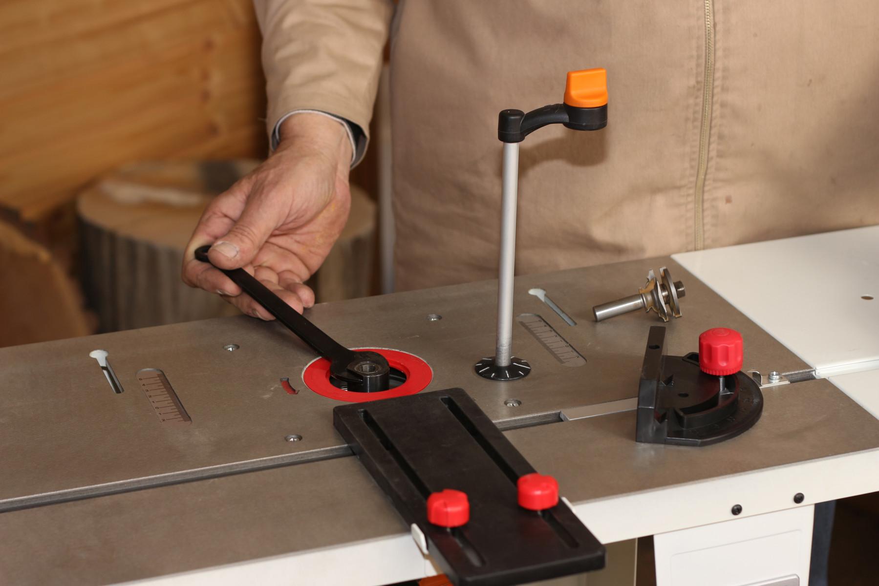 JRT-2 Универсальный чугунный фрезерный стол фото 3