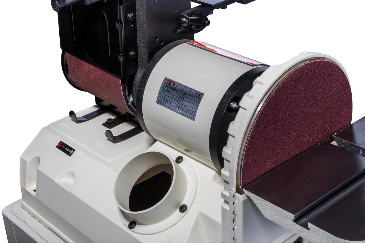 JSG-96 Тарельчато-ленточный шлифовальный станок фото 7