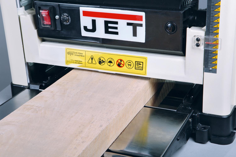 JET JWP-12 Переносной рейсмусовый станок фото 4