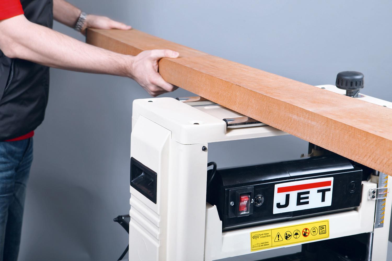 JET JWP-12 Переносной рейсмусовый станок фото 3