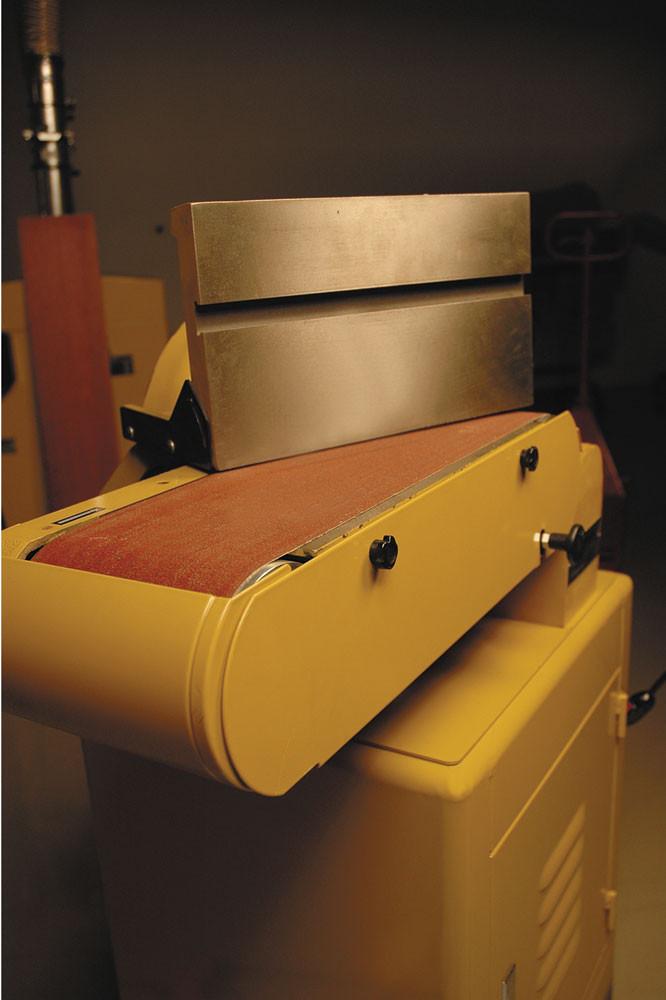 Powermatic 31A Тарілчасто-стрічковий шліфувальний верстат (400 В) фото 5