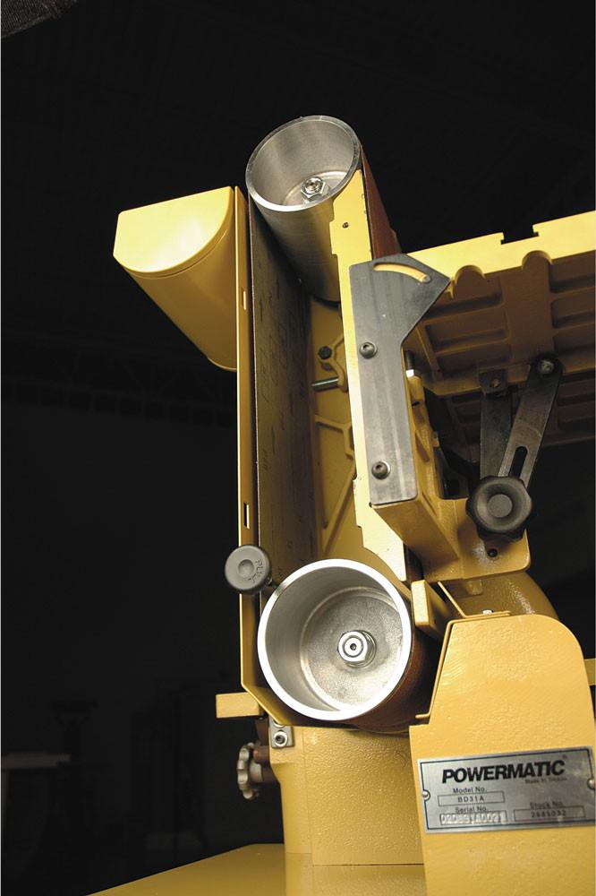 Powermatic 31A Тарілчасто-стрічковий шліфувальний верстат (230 В) фото 6