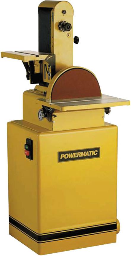 Powermatic 31A Тарілчасто-стрічковий шліфувальний верстат (230 В) фото 1