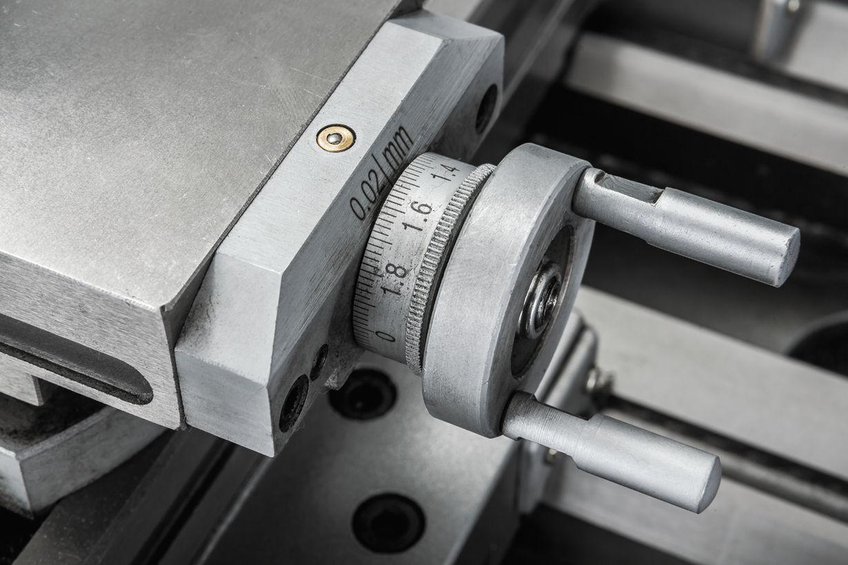 JET BD-12G Настільний токарний верстат по металу фото 16
