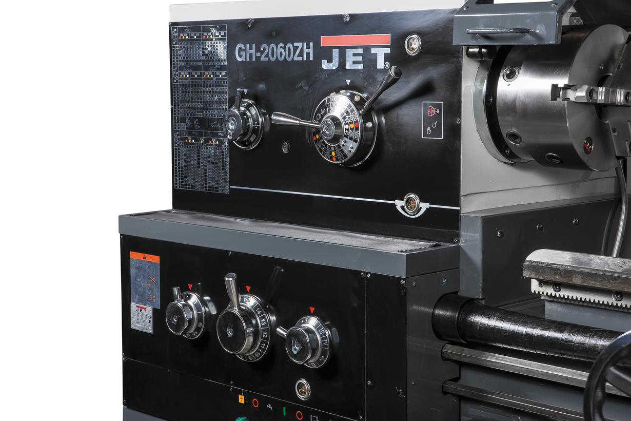 GH-2060ZH DRO Токарно-гвинторізний верстат серії ZH Ø500 мм фото 5