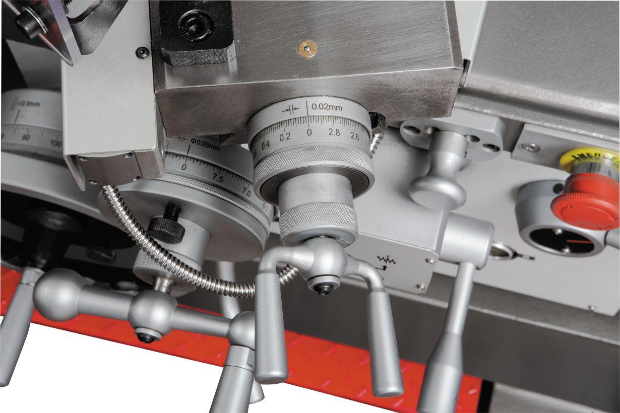 GH-1640ZX DRO Токарно-гвинторізний верстат серії ZX фото 15