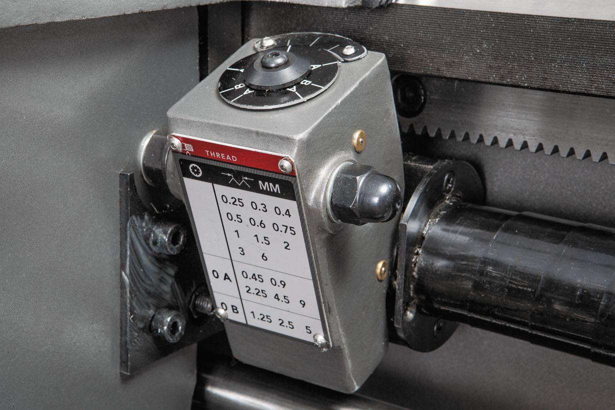 GH-1640ZX DRO Токарно-гвинторізний верстат серії ZX фото 9