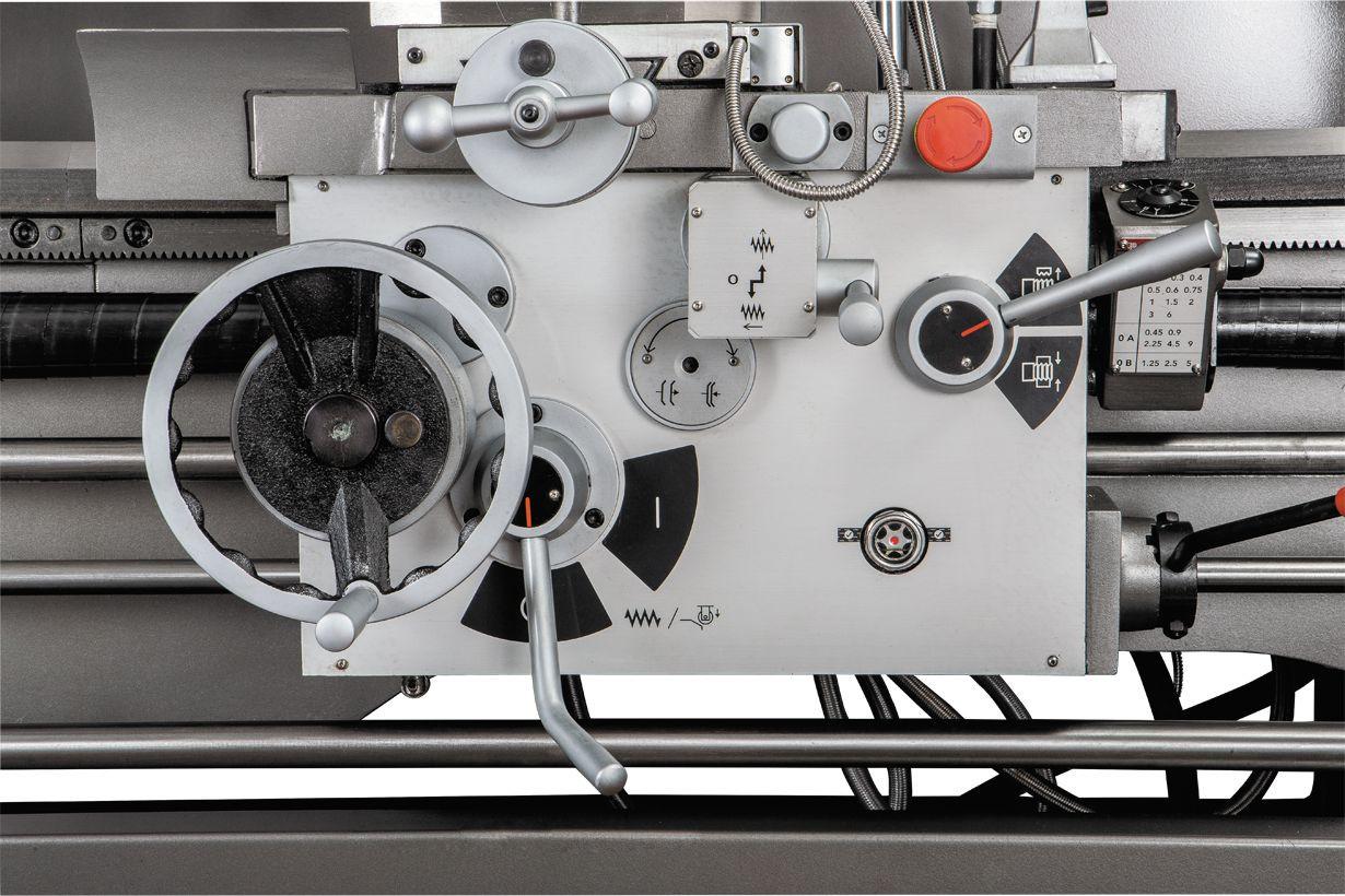 GH-1640ZX DRO Токарно-гвинторізний верстат серії ZX фото 17