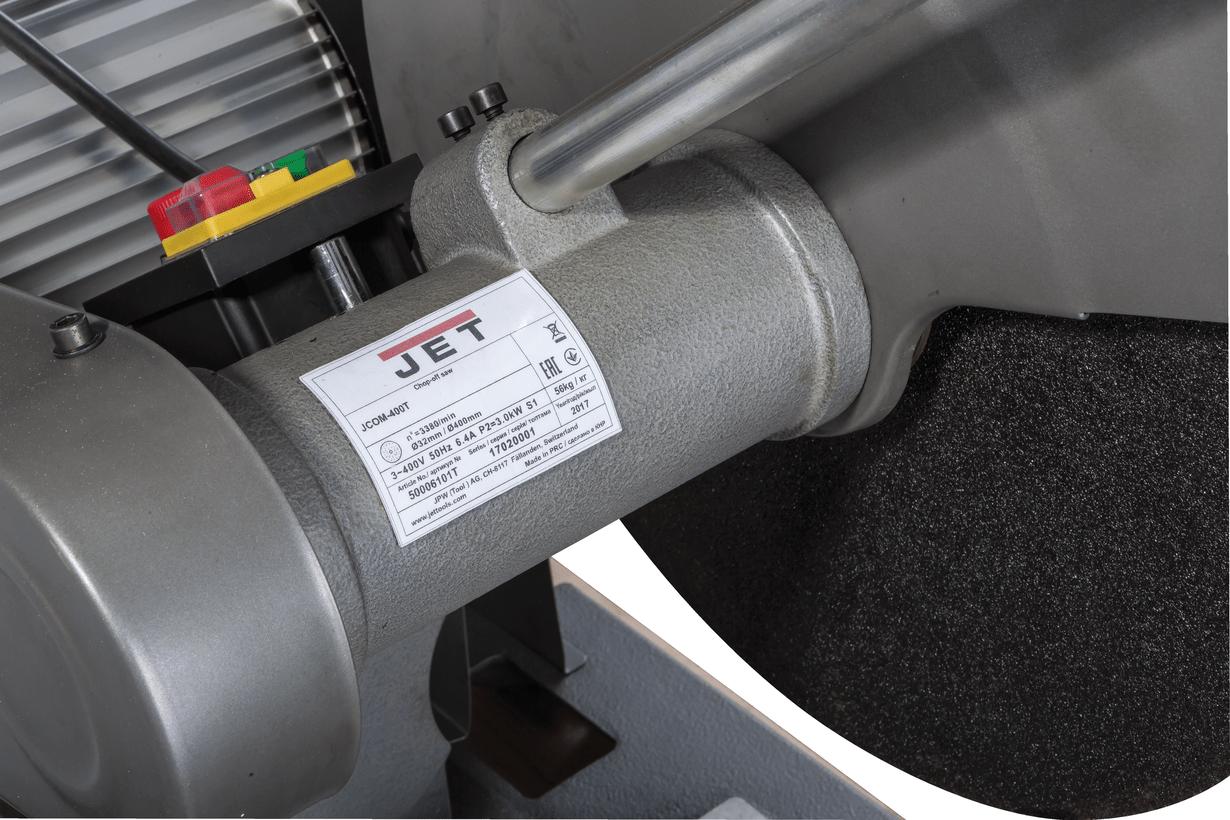 JCOM-400T Абразивно-відрізний верстат по металу (400 В) фото 3