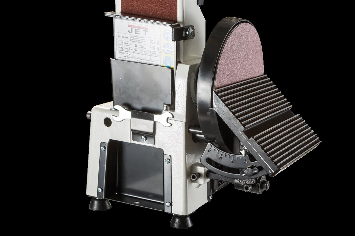 JSG-233A-M Тарілчасто-стрічковий шліфувальний верстат фото 11