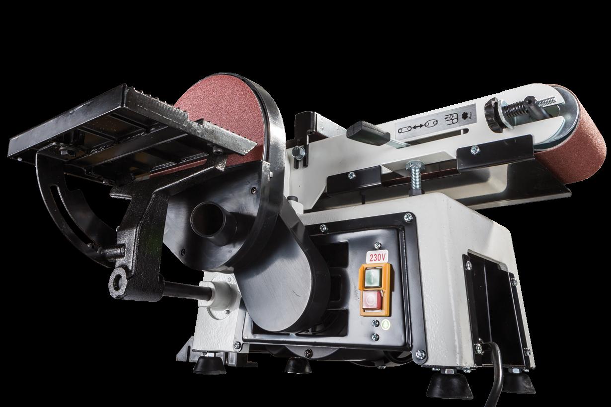JSG-233A-M Тарілчасто-стрічковий шліфувальний верстат фото 12